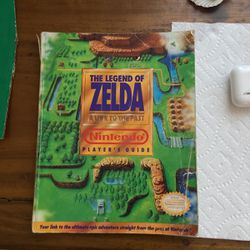 SNES Zelda Link To the Past Players Guide Nintendo for Sale in Fort Lauderdale,  FL