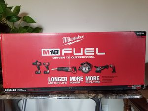 Milwaukee M18 Fuel 6 Tools Kit for Sale in City of Industry, CA