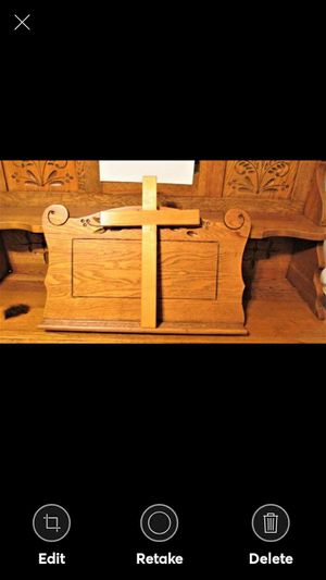 The Wooden Cross--Handmade--Solid Wood for Sale in Lynchburg, VA