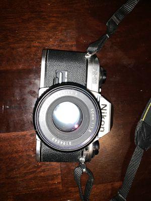 Nikon fg-20 vintage camera for Sale in North Chesterfield, VA