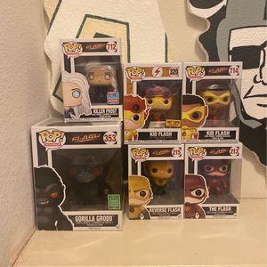 The Flash Funko Pops for Sale in Modesto, CA