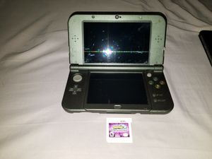 Nintendo 3DS XL With Charger and Pokemon Ultra Moon for Sale in Millville, MA