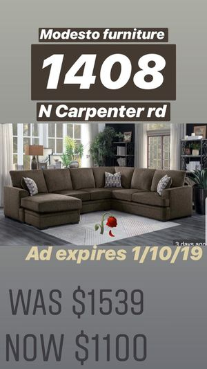 GET NEW SECTIONAL !! NEW for Sale in Modesto, CA