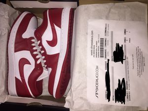 jordan 1 low gym red size 8 for Sale in Hayward, CA