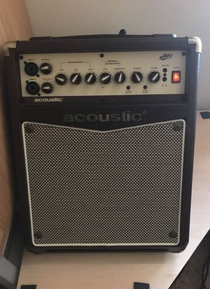 A-20 Acoustic Guitar Amp for Sale in Normal, IL