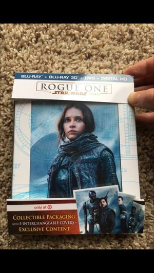 Star wars rogue one blu ray DVD for Sale in Denver, CO