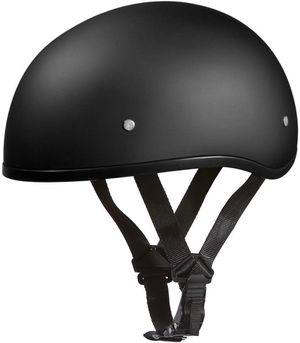 Motorcycle helmet scooter helmet Daytona Cruiser helmets matte black size medium large xl for Sale in San Diego, CA