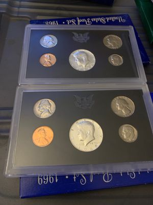 1968 -1969 Proof Sets for Sale in Aberdeen, WA