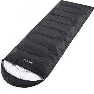 Camping Sleeping Bag - 4 Season Warm & Cool Weather - Summer, Spring, Fall, Winter, Lightweight, Waterproof for Adults & Kids - Camping Gear Equipment for Sale in Pomona, CA