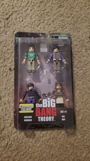 The big bang theory set #1 entertainment earth exclusive for Sale in San Mateo, CA