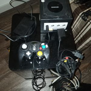 Game Cube With All Cable Including Adaptor To Connect To Ps2 Ps3 And Wii for Sale in Peoria, AZ