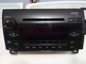 2007-2013 Toyota Tundra Radio Receiver CD Player Id. OEM Part. Original Value $1400 for Sale in San Antonio, TX