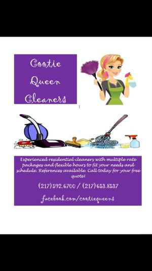 Cootie Queen Cleaners for Sale in Carthage, IL