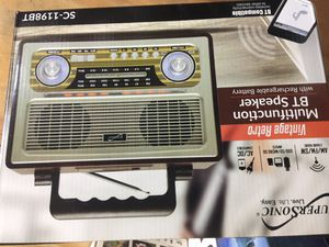 Old Bluetooth portable rechargeable speaker for Sale in San Francisco, CA
