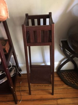 Pier One two tiered plant holder for Sale in Baltimore, MD