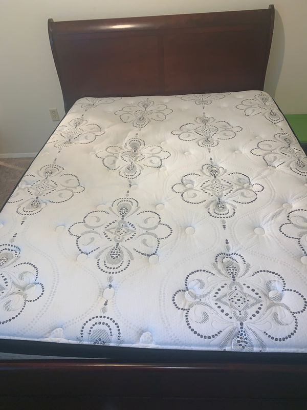 Bed and head board and frame