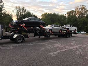 Company car hauler 2 truck and 2 Trailer's for Sale in Miami, FL