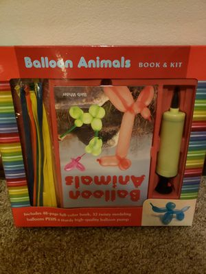 Balloon animal kit for Sale in Worthington, OH