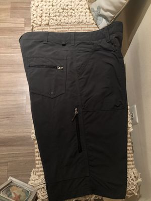 Men's REI Nylon UPF 50+ Hiking Outdoors Terrain Shorts Size 38. Dark Grey. for Sale in Dumfries, VA