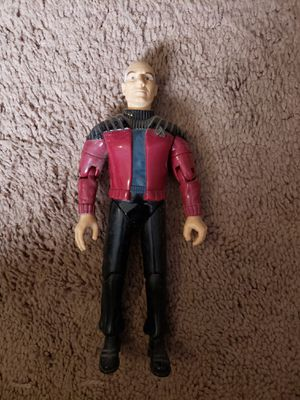 Star trek talking capt Picard figure for Sale in Surprise, AZ