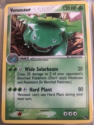 Venusaur 6/17 Holo Rare POP Series 2 Promo Pokemon Card NM for Sale in Fresno, CA
