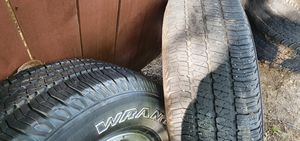 jeep tires 255/75/R17 for Sale in Irving, TX
