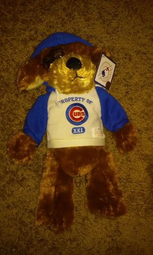 Chicago cubs plush bear for Sale in Orlando, FL