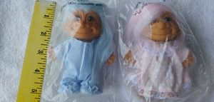 RUSS TROLL DOLLS PAIR for Sale in Plant City, FL