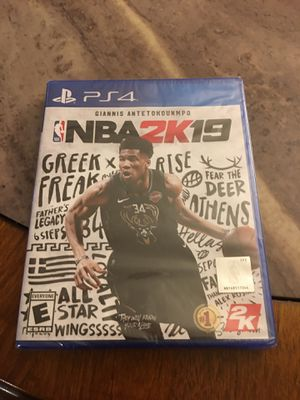 Brand new not open NBA 2K19 PS4 game for Sale in Anchorage, AK