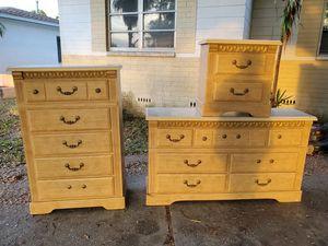 Three Piece Dresser Set for Sale in St. Petersburg, FL