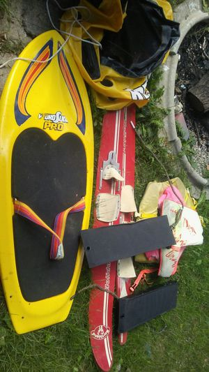Boat stuff..skis..wakeboard..rope for Sale in Detroit, MI