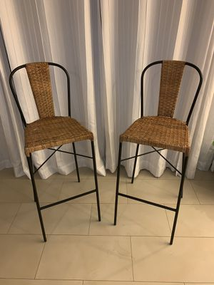 2- Bar Stools for Sale in Miami, FL