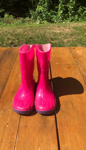 Pink Rain Boots for Sale in Lunenburg, MA