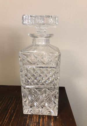 Crystal liquor decanter for Sale in Vienna, VA