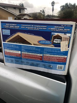 READ AD Brand new sealed it's only the top piece replacement piece for Costco canopy 10x20. 100$$$ firm READ AD BEFORE YOR CONTACT ME for Sale in Chula Vista, CA