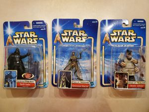 2002 Star Wars Action Figures for Sale in Marysville, WA