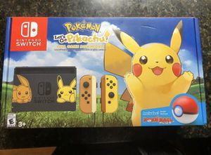 Nintendo switch lets go Pikachu limited edition for Sale in Oregon City, OR