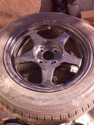 Rims with tires 15inch for Sale in Modesto, CA