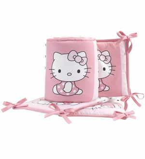 New hello kitty crib bumber for Sale in Bloomington, CA