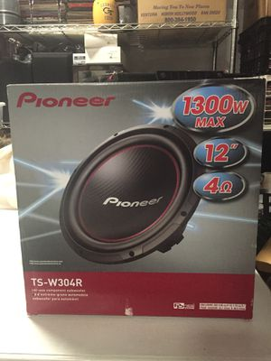 Pioneer Brand New Sub Woofer for Sale in Atlanta, GA