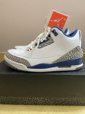 Air Jordan 3 Retro True Blue 2016 Size 8 Great condition for Sale in Rockville, MD
