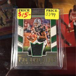 DeMarco Murray Dallas Cowboys 2017 pro bowl kings jersey insert 37/99 NFL football card for Sale in Bakersfield,  CA