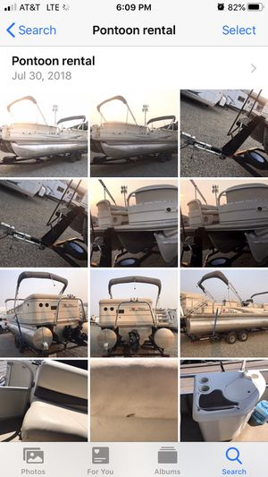 Rent me pontoon boat speed boat for Sale in Fresno, CA