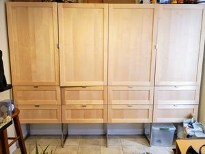 Storage cabinets 6ft x 8ft for Sale in Bolingbrook, IL
