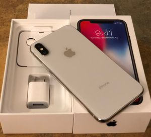 Apple iPhone X 64 GB brand new never used Apple warranty fully paid off clean ESN Tmobile, MetroPCS, simple Mobile, Sprint, Boost and virgin mobile n for Sale in Boston, MA