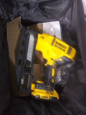 New nail gun open box for Sale in Fort Lee, NJ