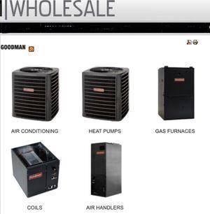 Goodman/Ruud AC units, Heatpumps, air handler, coils. HVAC for Sale in Gainesville, VA