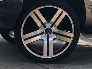 """24"""" Texas edition rims new tires for Sale in Ontario, CA"""