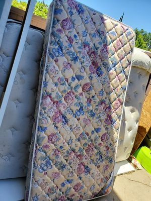 Twin Matress/Box/Frame $10 each for Sale in Modesto, CA