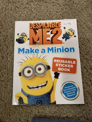 Minions reusable sticker book for Sale in Puyallup, WA